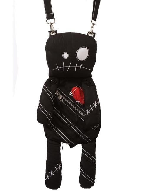 Poizen Voodoo Doll Bag - black | voodoo | Pinterest