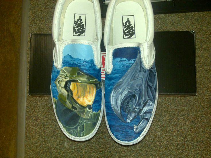 Halo Shoes via Reddit user nehc0925