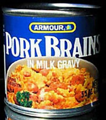 how to cook pig brains