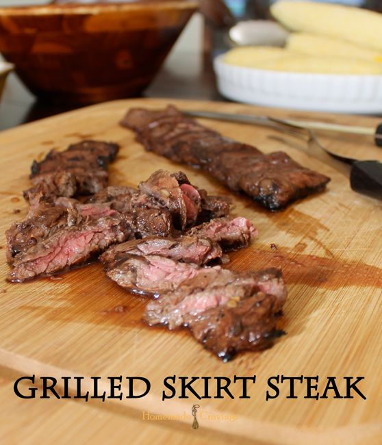 Grilled Skirt Steak | Recipe