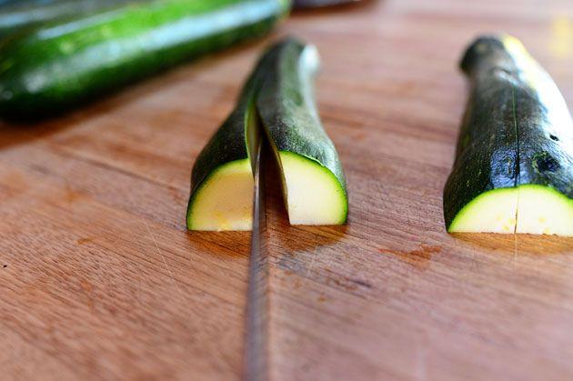 Grilled Zucchini with Yummy Lemon Salt | Recipe
