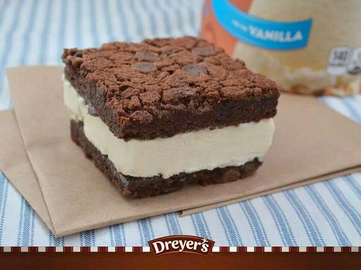 Ice cream sandwich | Recipes Desserts | Pinterest