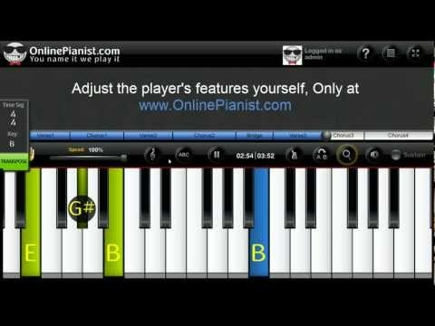 Piano : 1000 miles piano chords 1000 Miles Piano Chords or 1000 ...