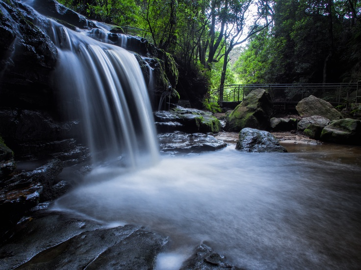 Leura Cascades NSW  the Blue Mountains of NSW AUSTRALIA , via 500px