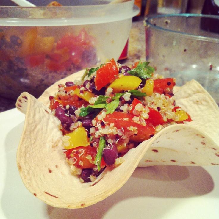 ... taco salad for two steak taco salad southwest quinoa salad taco bowl