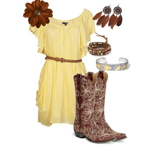 Cute Dresses To Wear With Cowboy Boots Cute Dresses To Wear With Cowboy Boots new picture