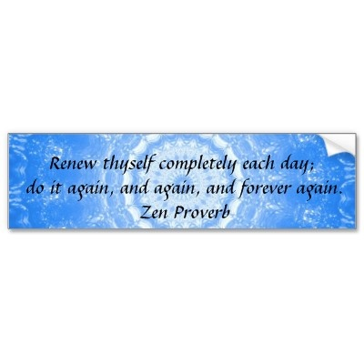 Each day is a new start #quote #zen