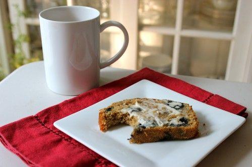 Whole Wheat Blueberry Bread | Food: Bread | Pinterest