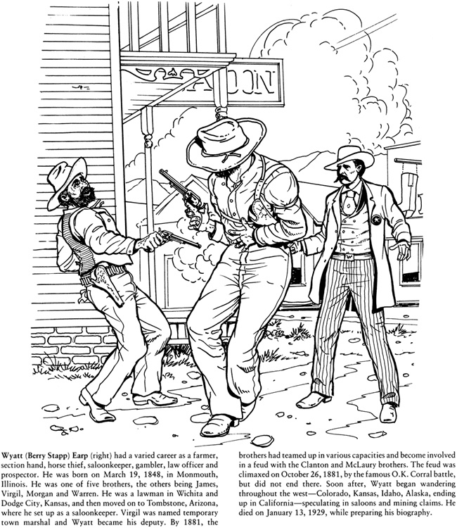 Wild west 2 coloring pages pinterest for Wild west coloring pages