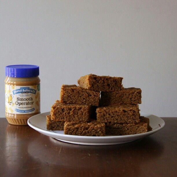 schaap1129 made our decadent Sweet Potato Peanut Butter Blondies ...