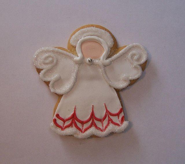 angel cookies | Angel Sugar Cookie | Flickr - Photo Sharing!
