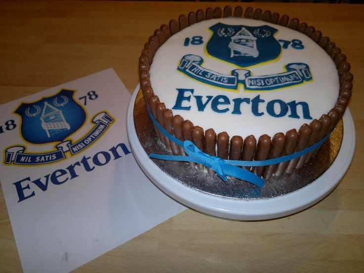 Everton cake - by AWG Hobby Cakes @ CakesDecor.com - cake decorating ...