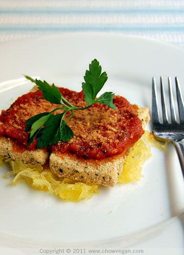 Tofu Parmigana! | Tofu Recipes | Pinterest