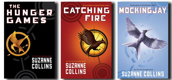 The Hunger Games Trilogy by Suzanne Collins... AMAZING books.