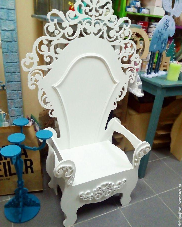 Своими руками стул принцессы 59