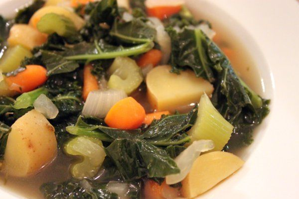 Kale & Vegetable Soup | Vegan/Vegetarian