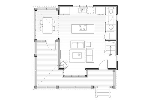 Main Floor Garage Apartment House Plans Pinterest