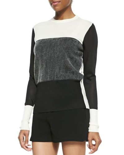 Rag & Bone Marissa Colorblock Knit Sweater