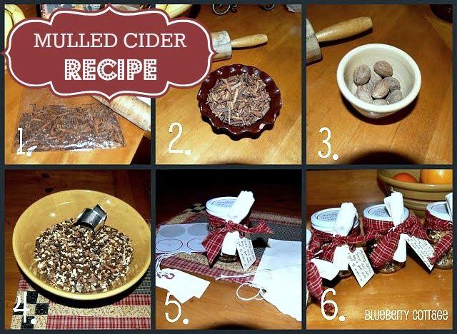 Mulled Cider   DIY   Pinterest
