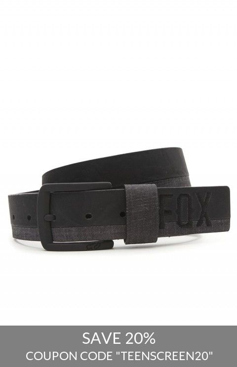 Fox Solstice Belt Pacsun Coupons Pinterest