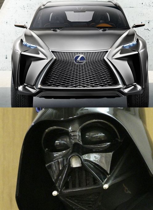 What do you think of lexus new lf nx concept suv some car pundits