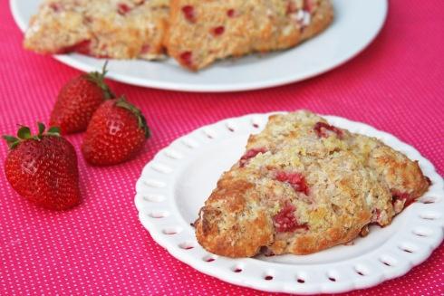 Whole Grain Strawberry Lemon Scones | Food - Breads, Rolls, Muffins ...