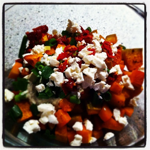 Warm Roast Pumpkin Salad with Feta | Recipes from my blog 'After Tast ...