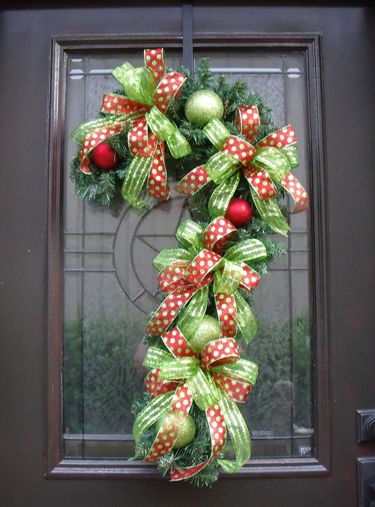 Candy cane wreath christmas wreath candy cane decoration Christmas wreath decorations
