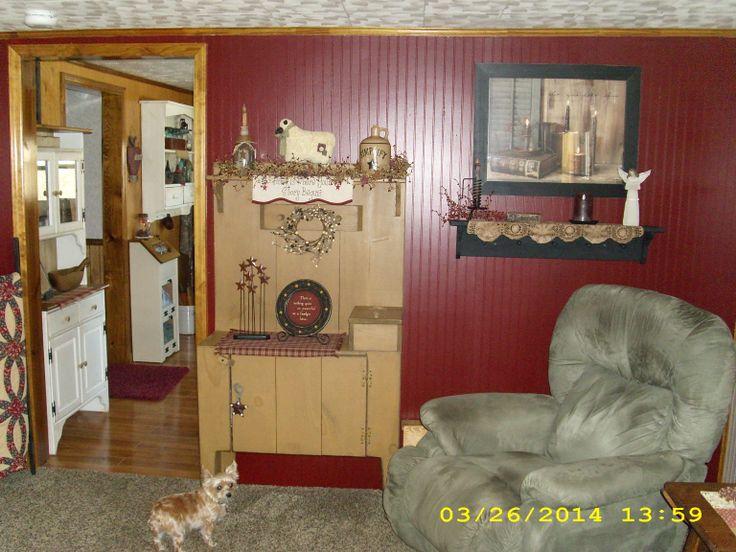 Primitive living room simply primitive pinterest