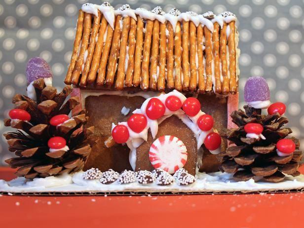 Easy Gingerbread House Pattern | Bakery | Pinterest