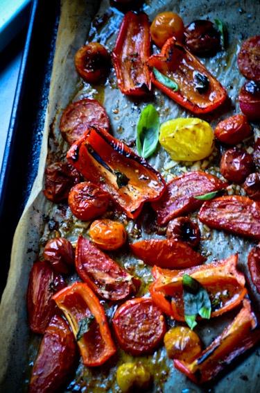 Roasted Summer Vegetable Gratin