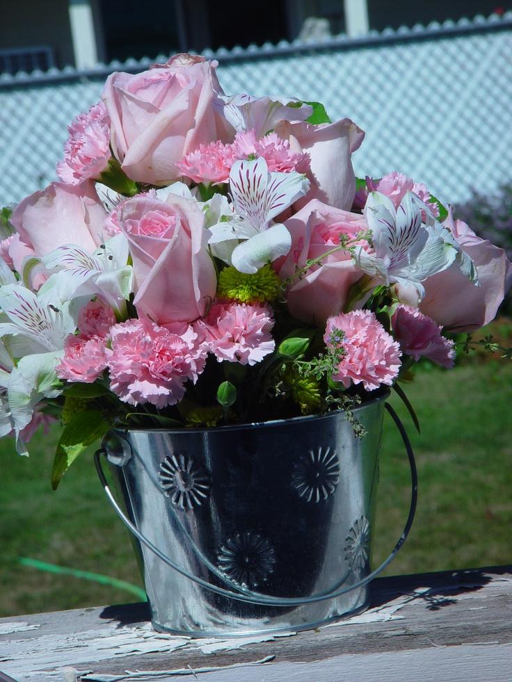 Do It Yourself Wedding Flowers Centerpieces : Centerpiece at baby shower do it yourself wedding