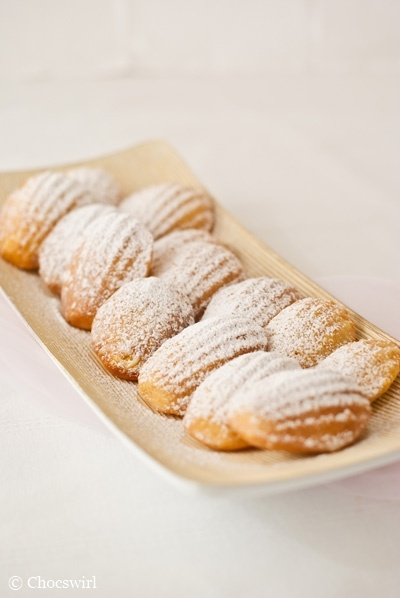 Citrus-Glazed Madeleines | Recipes to Try | Pinterest