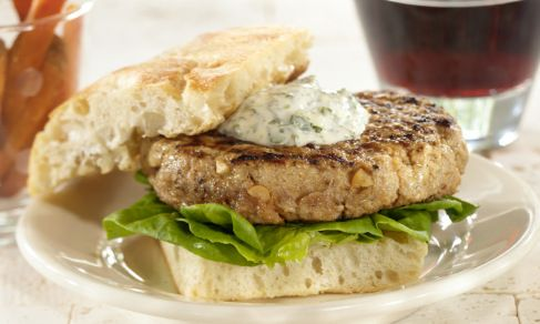 Grilled Pork Burgers Indochine | Recipe