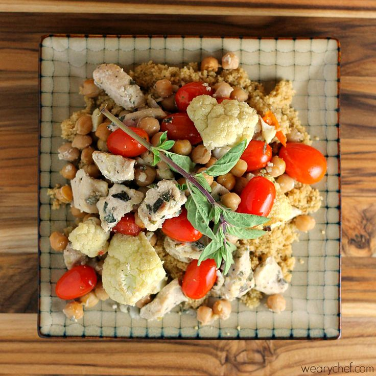 Healthy Chicken and Chickpea Baked Stir Fry   Recipe