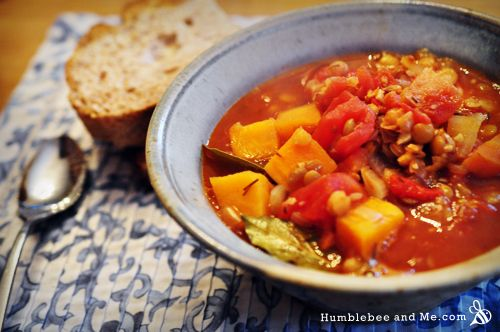 Smoked Paprika & Lentil Soup | Vegetarian Wanna-Be.. That would be me ...
