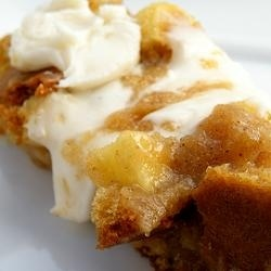 Dulce de Leche Apple Cake with Brown Butter Icing