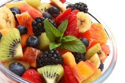 Summer Fresh Fruit Salad Strawberry/Mango quinoa