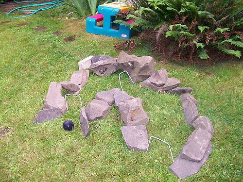 Backyard Sand Trap : DIY Backyard Games  Crazy Croquet  Summer  Pinterest