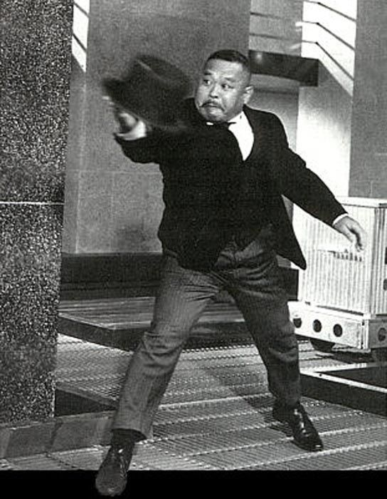 Harold Sakata as Oddjob in Goldfinger | Exquisitely Evil ...