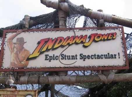 Indiana jones epic stunt spectacular my goal on the next trip is to