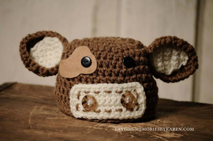 Crochet Pattern Cow Hat : Cow hat and Diaper Cover FREE pattern Inner Beauty ...