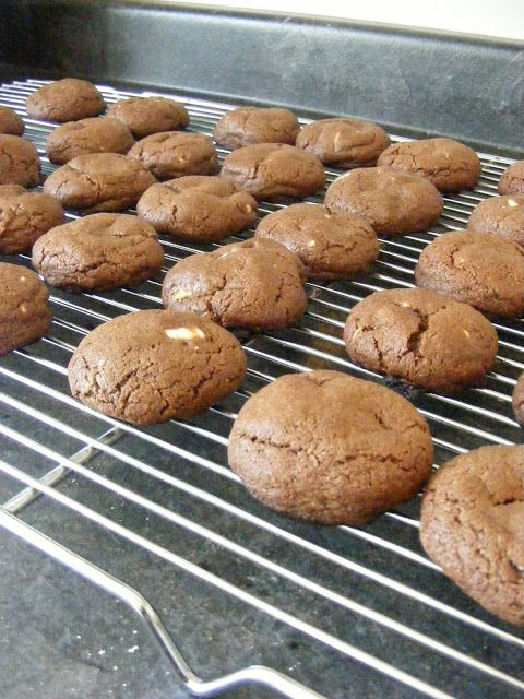 Double Chocolate Chunk Cookies | Dessert Recipes to Try | Pinterest