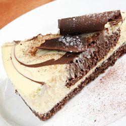 Mocha Cheesecake w/Chocolate Crust | Pie | Pinterest