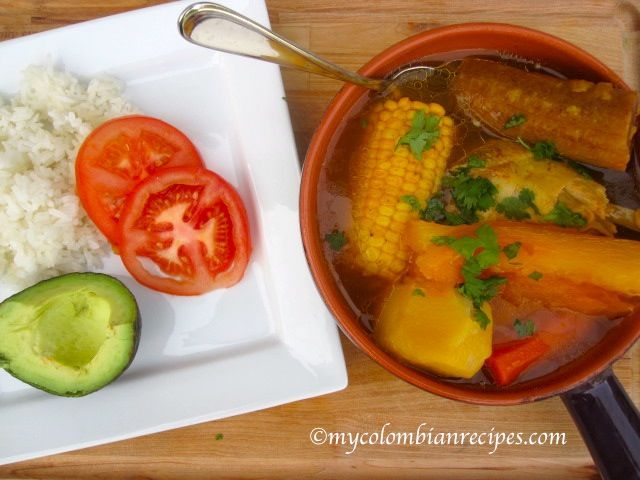 Colombian Chicken Sancocho - 8 Pts Recipes — Dishmaps