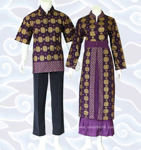 Pin By Baju Batik On Gamis Batik Sarimbit Couple Pinterest