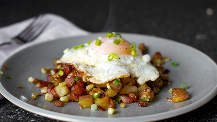 Bacon Corn Hash | BACON!!!! | Pinterest