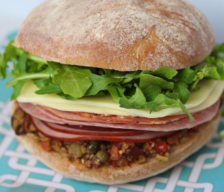 Muffuletta, An Italian Sandwich From New Orleans