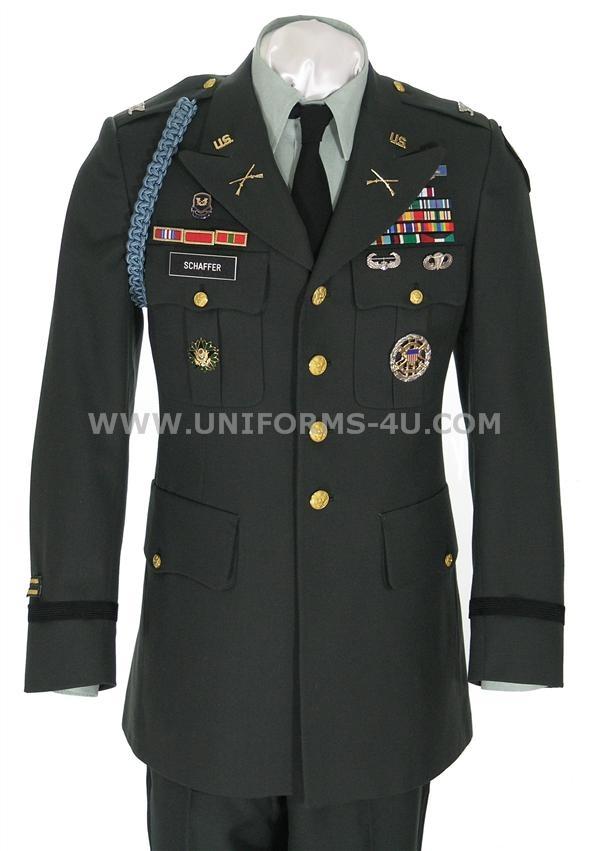 Dress Green Uniform 59