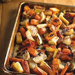 Roasted Winter Root Vegetables: Diabetes Forecast